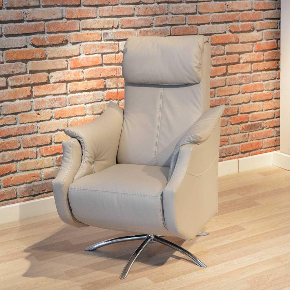 skórzany fotel rozkładany