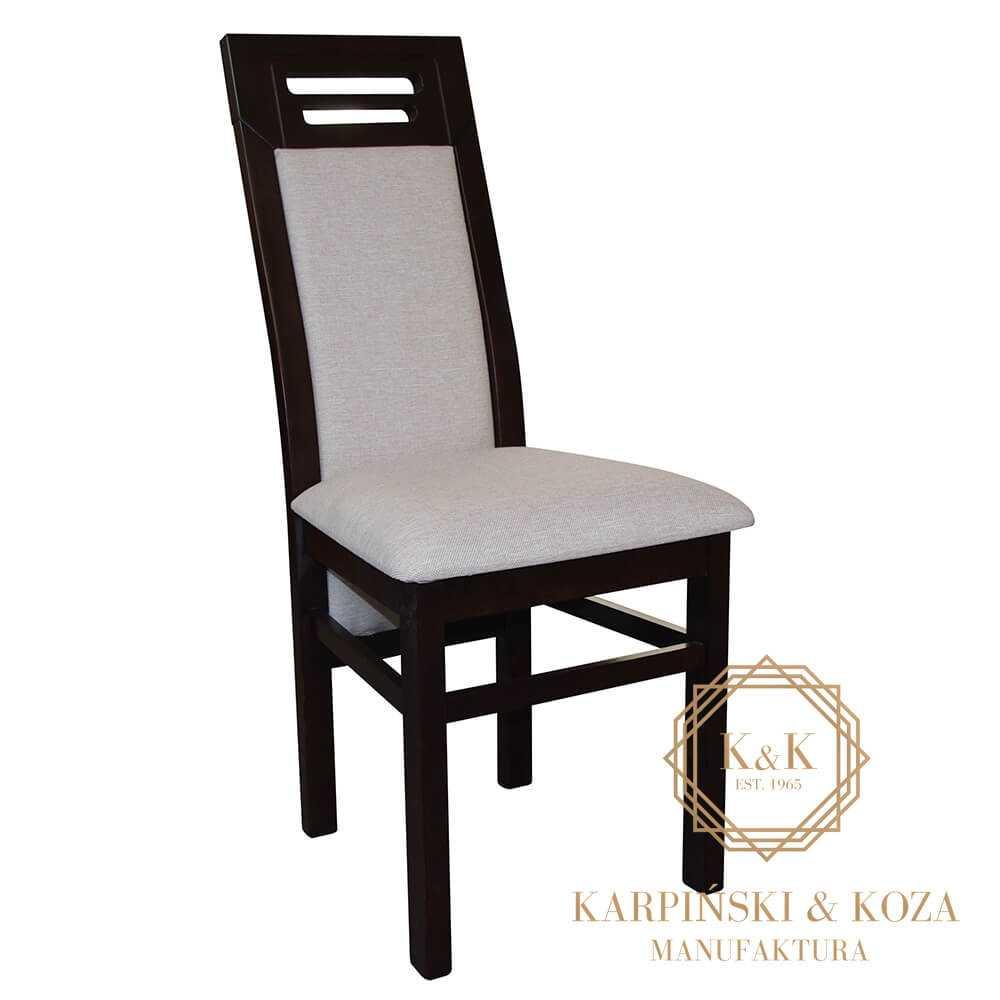 Krzesło UNDO czarne nowoczesny