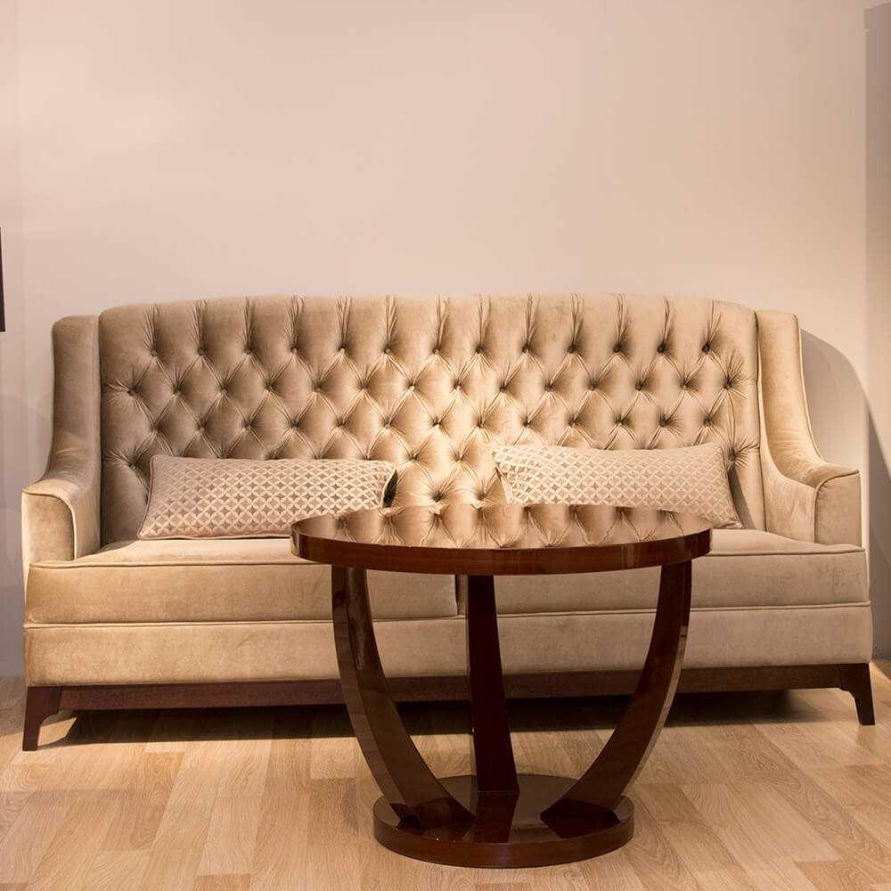 Meble na wymiar wrocław sofa glamour art deco