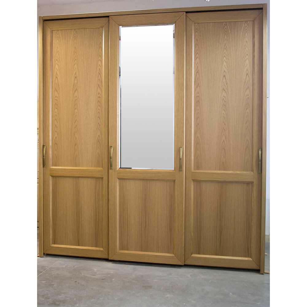 drewniana szafa przesuwna, do sypialni, do garderoby, dębowa szafa, wysoka szafa, na wymiar, producent szaf