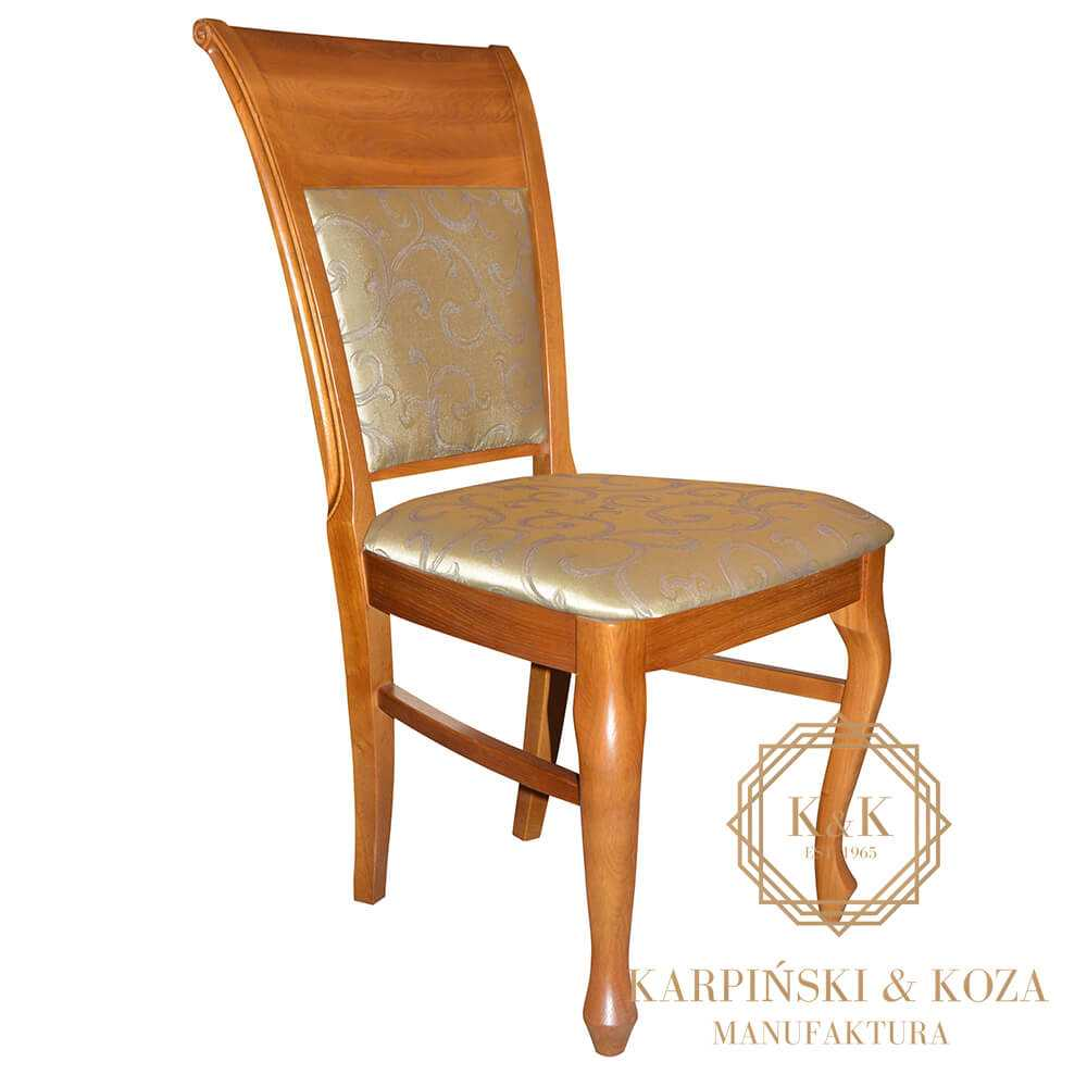 drewniane krzesło LIDIO do stołu