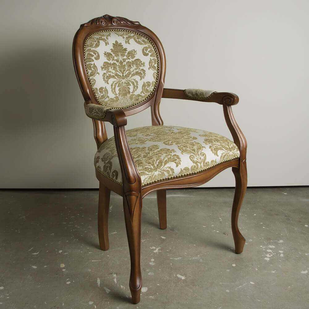 klasyczne krzesło EMOL z podłokietnikami do jadalni