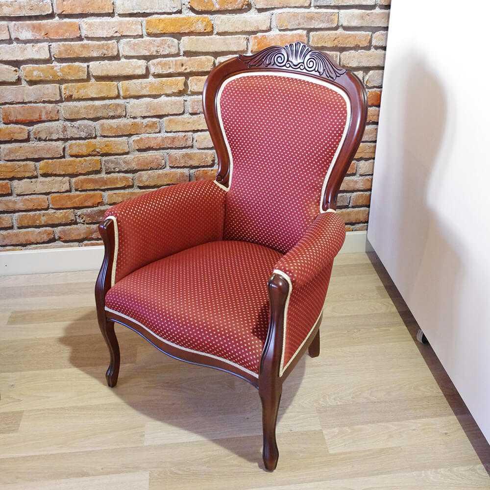 klasyczny fotel da Vinci