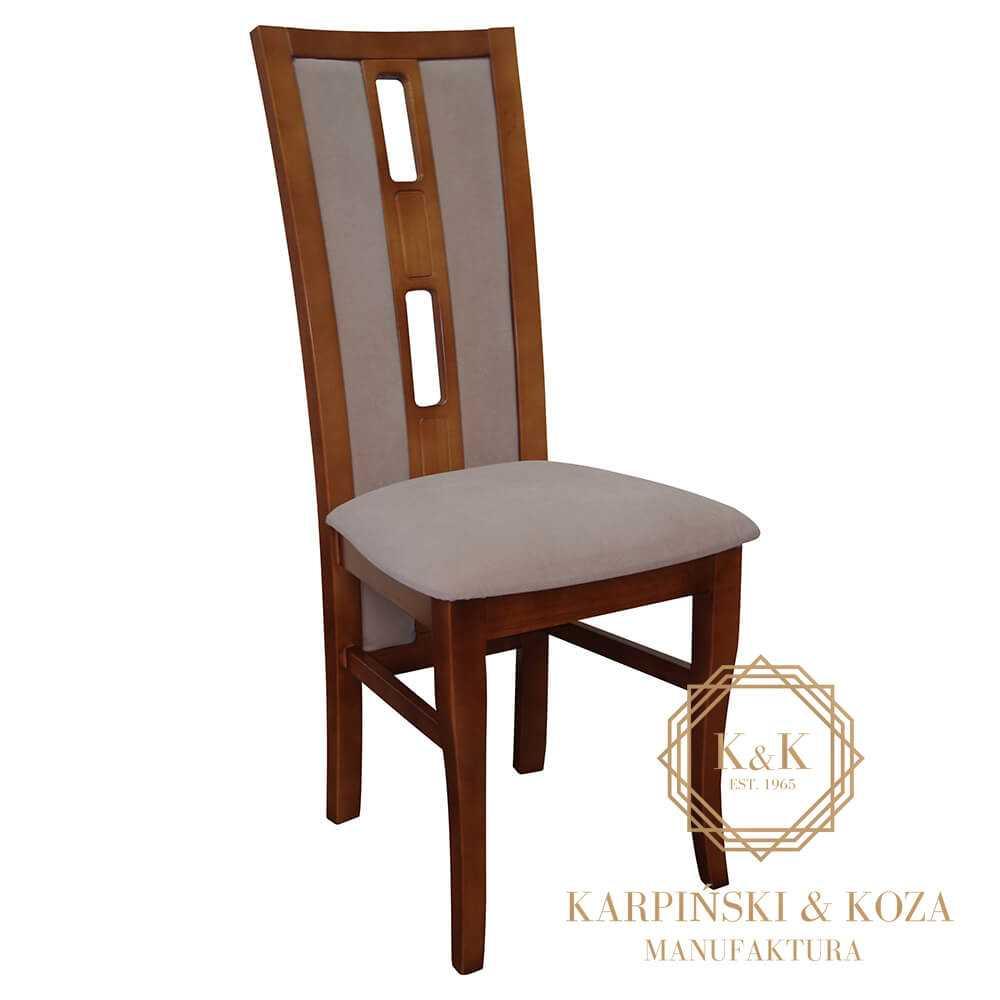 krzesło APTO drewniane, nowoczesne, do stołu, polskie