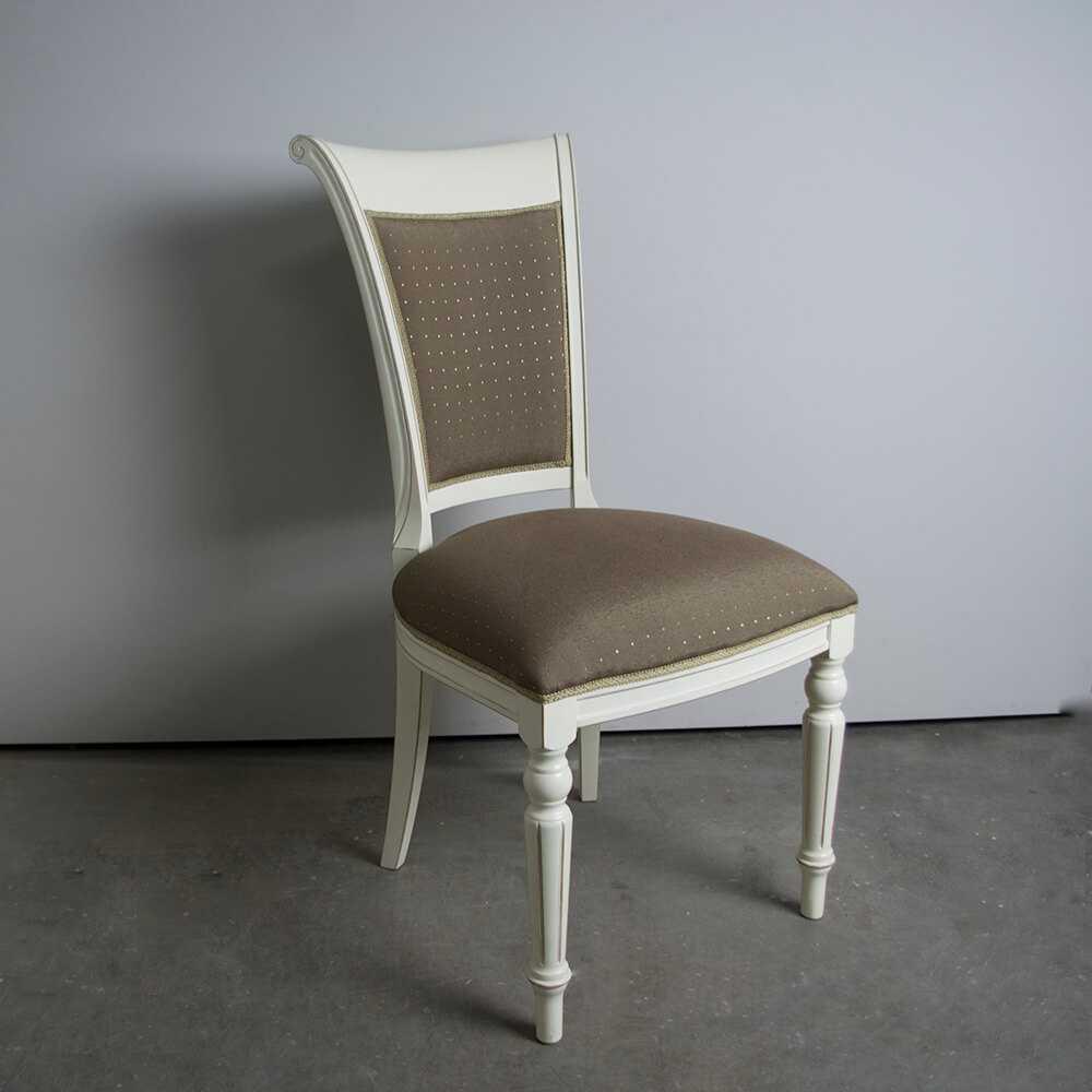 krzesło GRUDO Prownansalskie białe