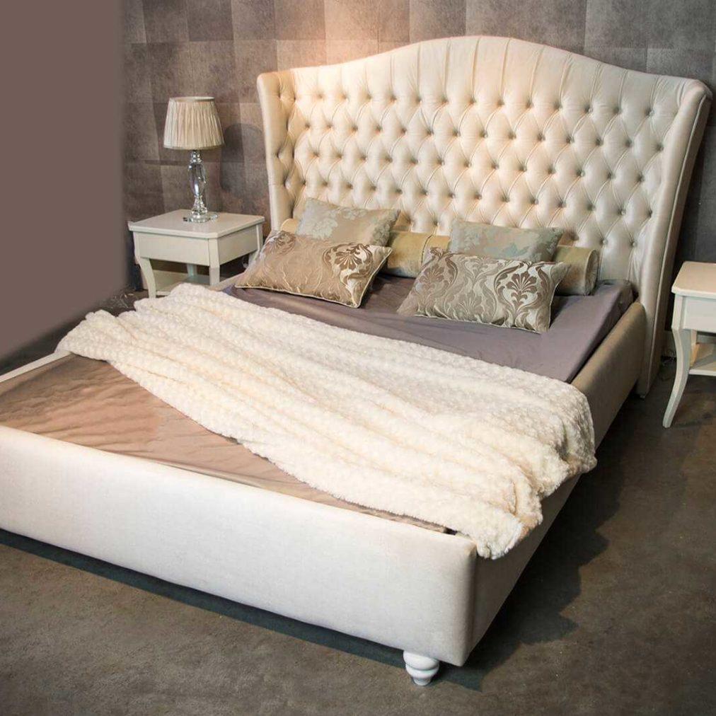 Sypialnia w stylu glamour- Loren Queen, meble do sypialni, na wymiar, dobrodzień, katowice, gliwice, łózko na wymiar