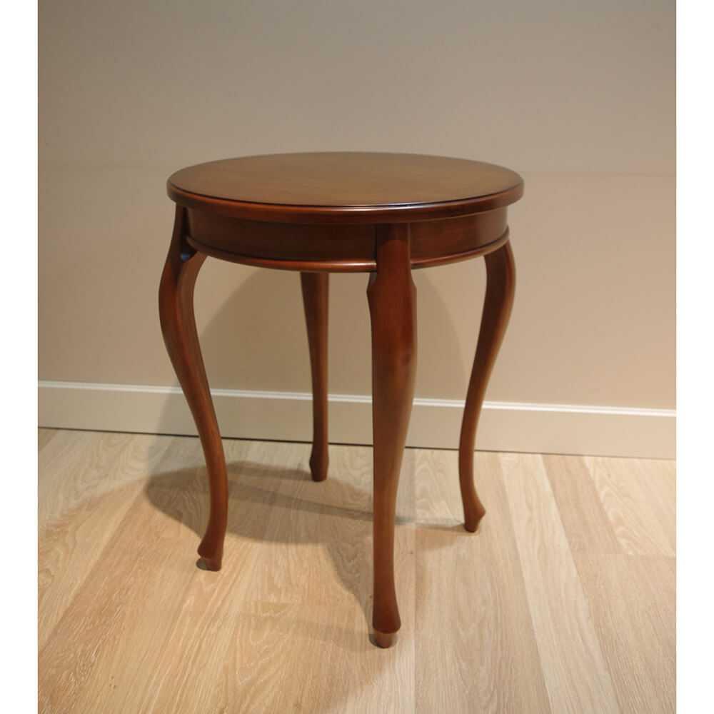 okrągły stolik na lampe