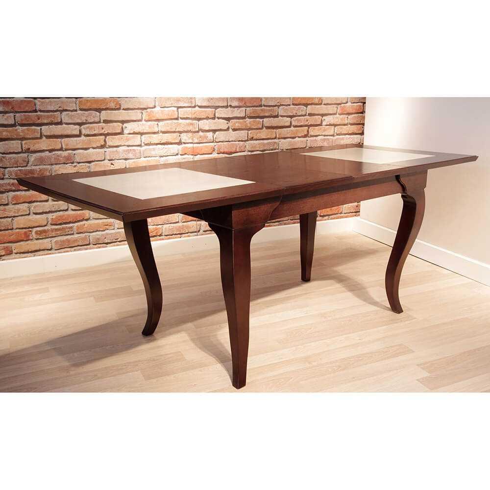 rozkładany stół drewniany do jadalni