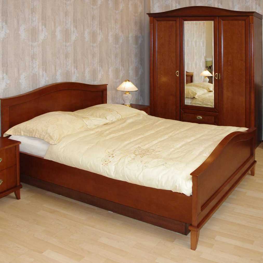 klasyczna sypialnia verona w kolecie z łózkiem, szafą, szafkami nocnymi stylowymi oraz komodą na nóżkach, na wymiar, wrocław, katowice, gliwice, warszawa, wrocław,